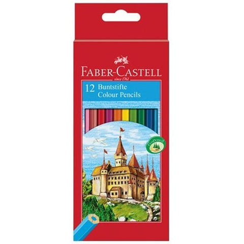 "Faber Castell ""Castle"" Colour Pencil Set of 12"