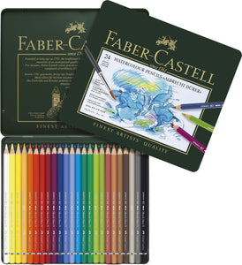 Faber-Castell Albrecht Dürer Artists' Watercolour Pencils tin of 24