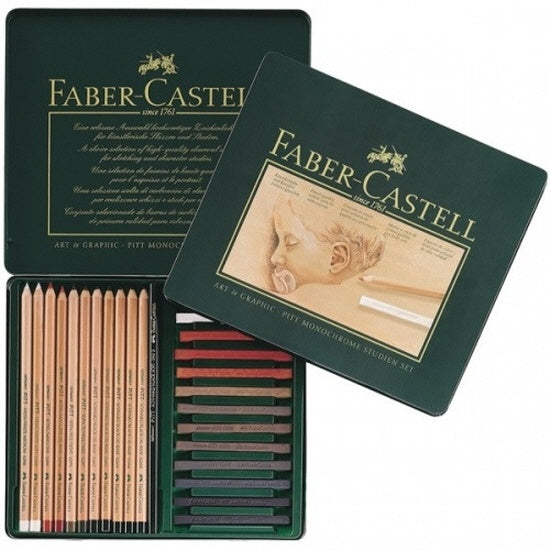 Faber-Castell PITT Studio set Tin of 25