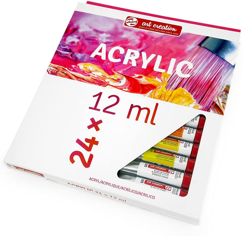 Royal Talens - Art Creation Acrylic Paints - 24 x 12ml Tubes