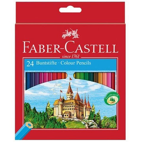 "Faber Castell ""Castle"" Colour Pencil Set of 24"