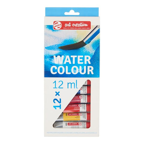Royal Talens - Art Creation Watercolour Paints - 12 x 12ml Tubes