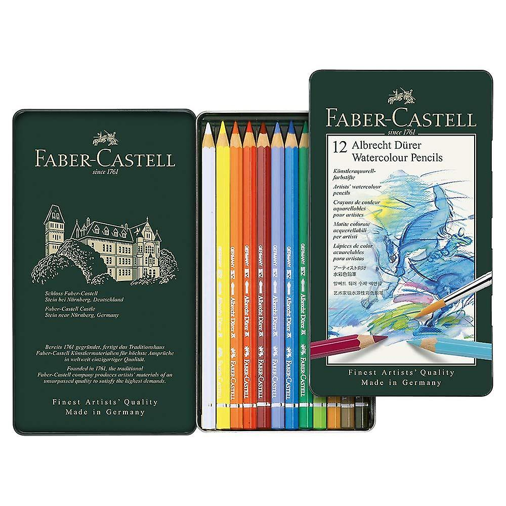 Faber-Castell Albrecht Dürer Artist's Watercolour Pencils tin of 12