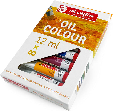 Royal Talens - Art Creation Oil Colour Paints - 8 x 12ml Tubes