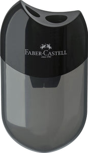 Faber-Castell Twin sharpening box, black