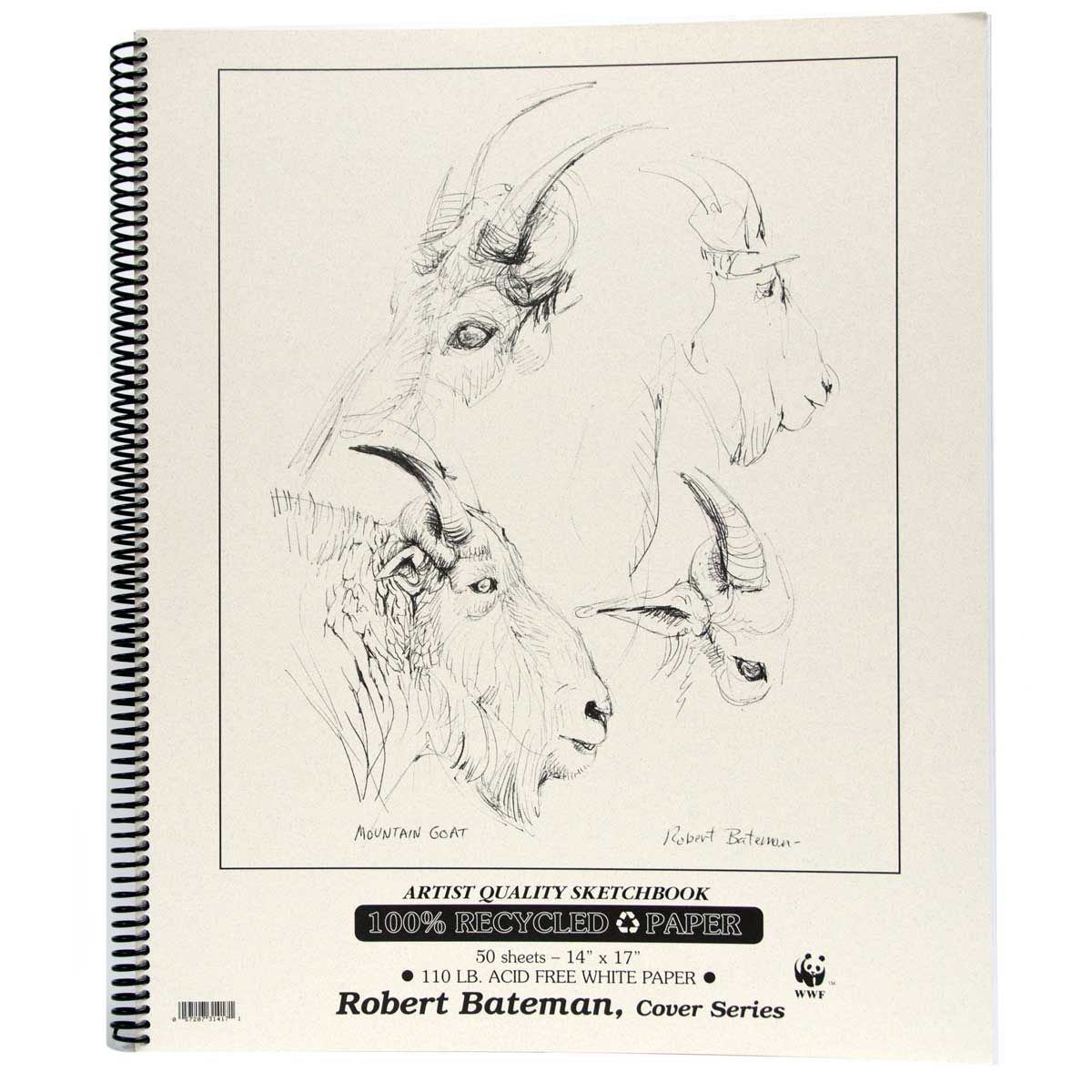 "Robert Bateman - Recycled Sketch Book - 14"" x 17"""