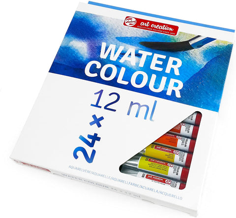 Royal Talens - Art Creation Watercolour Paints - 24 x 12ml Tubes
