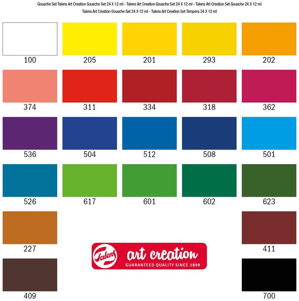 Royal Talens Art Creation Gouache Set 24 x 12ml