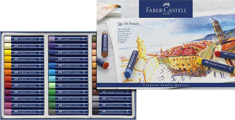 Faber Castell Creative Studio Oil Pastel Crayons 36
