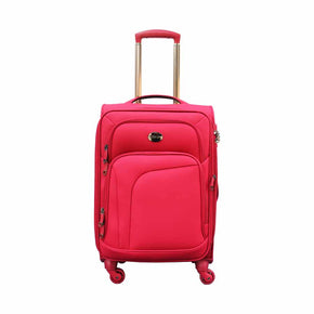 Swiss Pro Sion Softside Spinner Red 20 inch