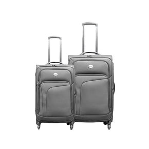 "Swiss Pro Sion Softside - 20"" + 26"" Trolley Bag"