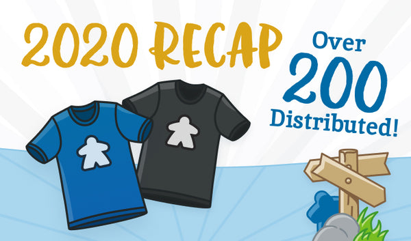 2020 Recap - Over 200 Shirts Distributed!