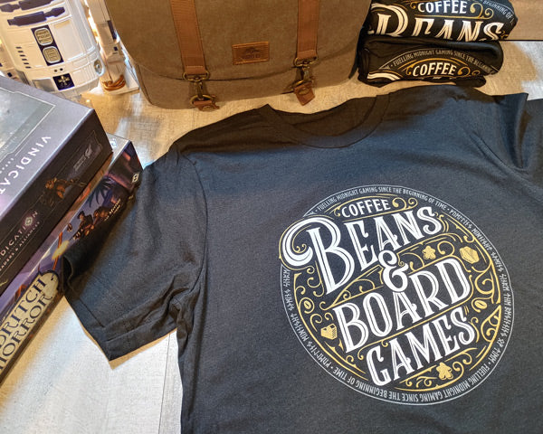 Coffee Beans & Board Games Back in Stock