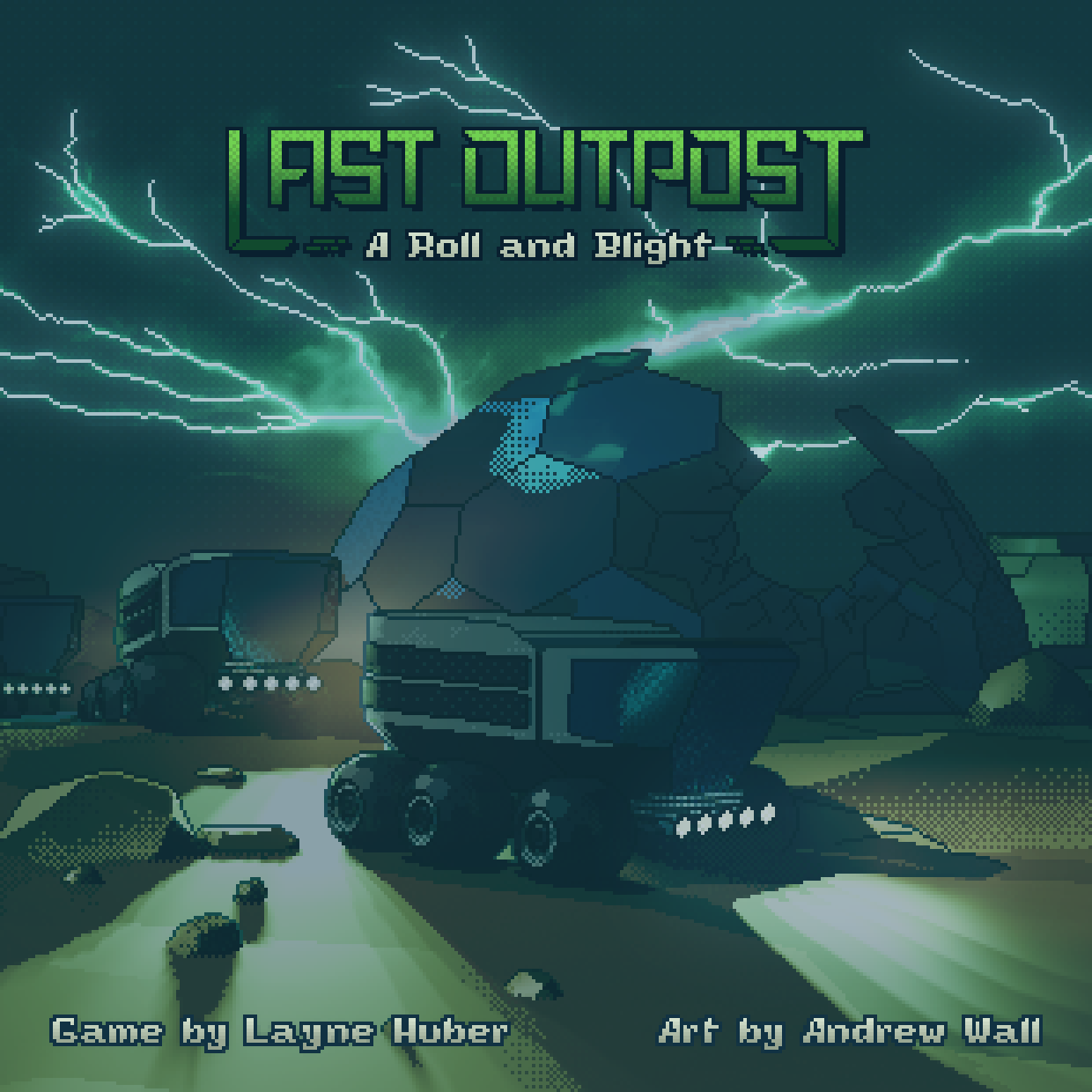 Last Outpost Board Game Cover