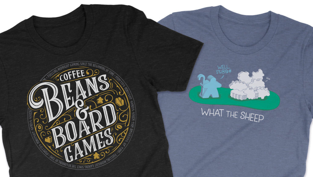 Our Two New T-Shirt Designs