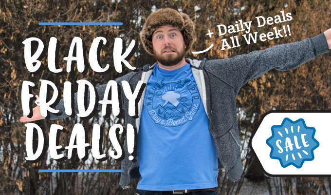 Black Friday pricing on our board game t-shirts!