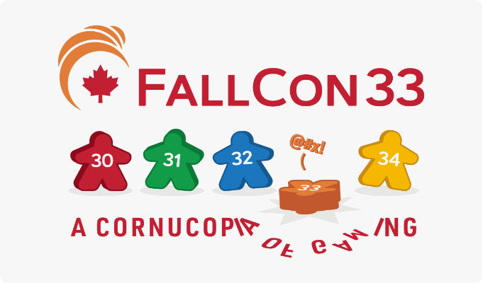 The final version of the FallCon33 design!