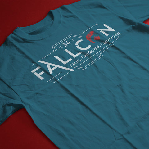 FallCon 34 Limited Edition Teal T-Shirts
