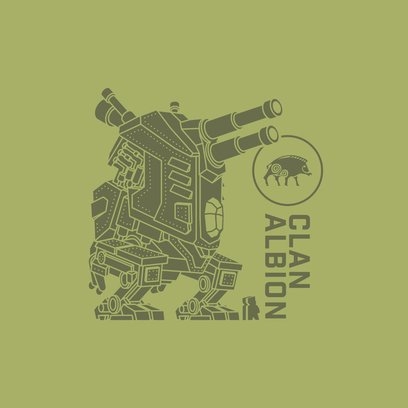 Clan Albion T-Shirt Artwork