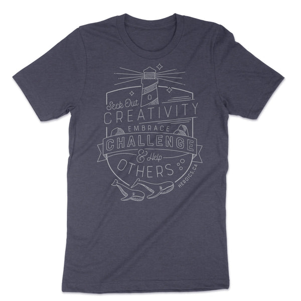 Heroics Branding -  Seek Out Creativity T-Shirt