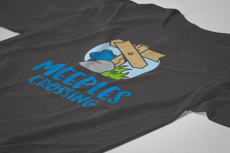 Official Meeples Crossing T-Shirt - *Limited Time Only*