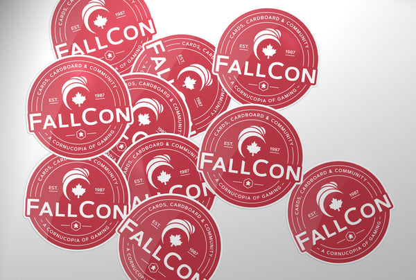 "FallCon ""Classic"" 3"" Sticker"