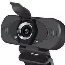 Load image into Gallery viewer, Full HD 1080P USB Computer Webcam with Tripod and Privacy Shutter