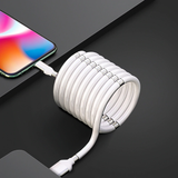 USB C to USB White Flashwire magnet cable charging iPhone