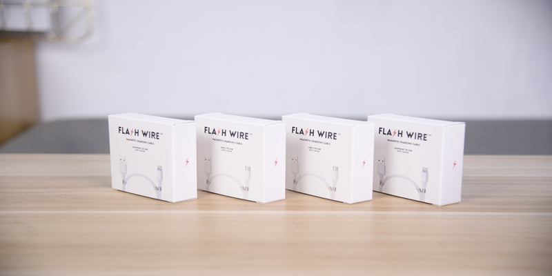 FLASHWIRE™ - Magnetic Charging Cable