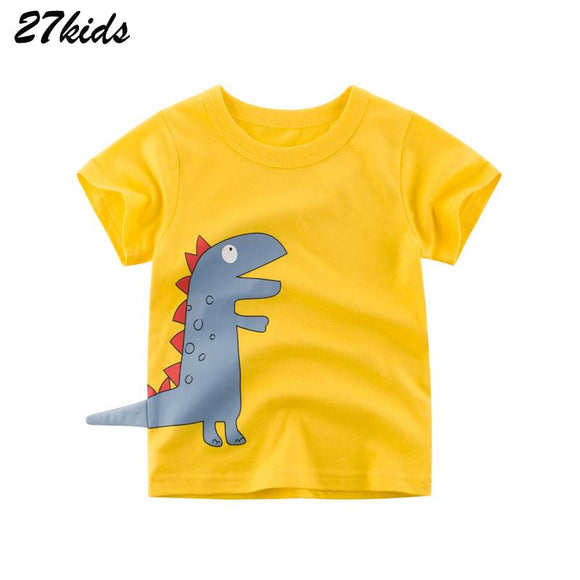 Cartoon Pattern Infant T Shirt