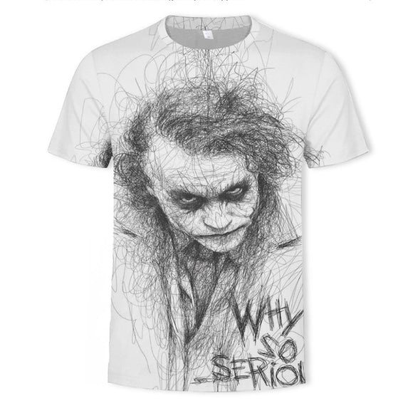 Clown Novelty 3D T Shirt