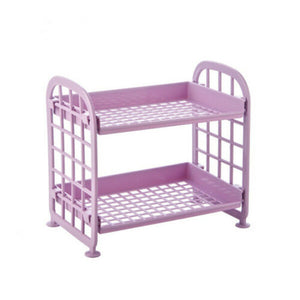 Plastic Storage Rack