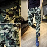 Camo Casual Slim Pants