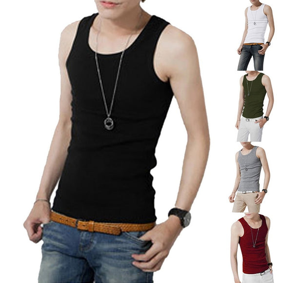 O-neck Sleeveless Breathable Tank Tops