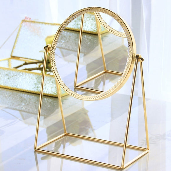 Three-Dimensional Metal Decorative Mirror