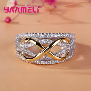 Hollow Out Infinity Love Ring