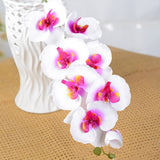Artificial Silk White Orchid Flowers