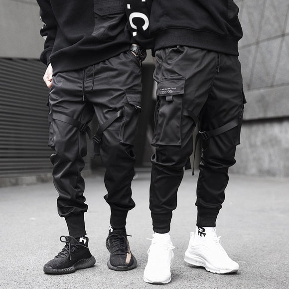 Hip Hop Casual Cargo Pants