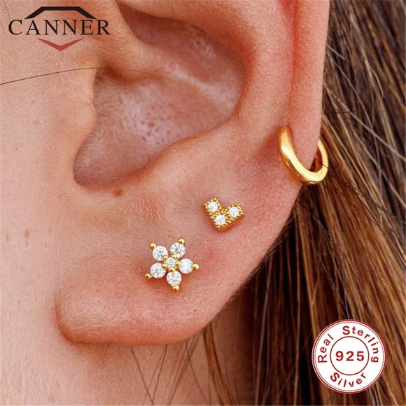 Cartilage Sterling Earring