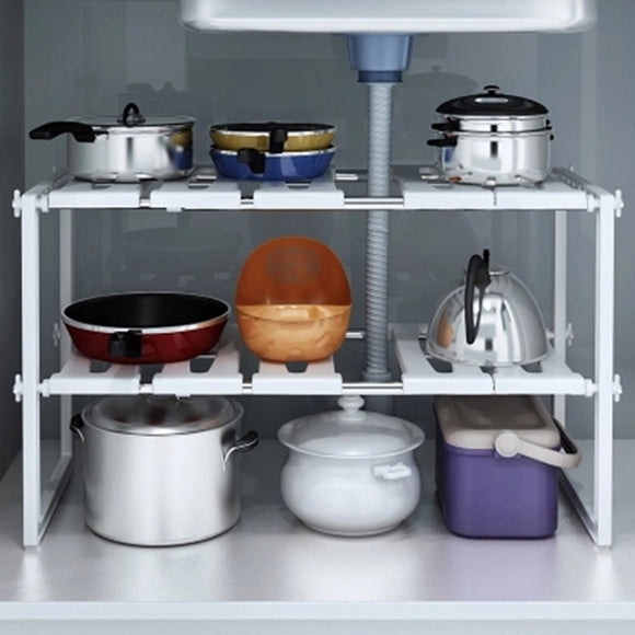 Adjustable Kitchen Storage Rack