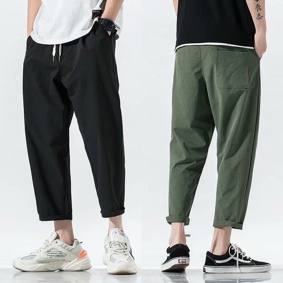 Men's Black Army Green Harem Pants