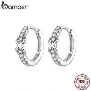 Infinite Love Hoop Earrings