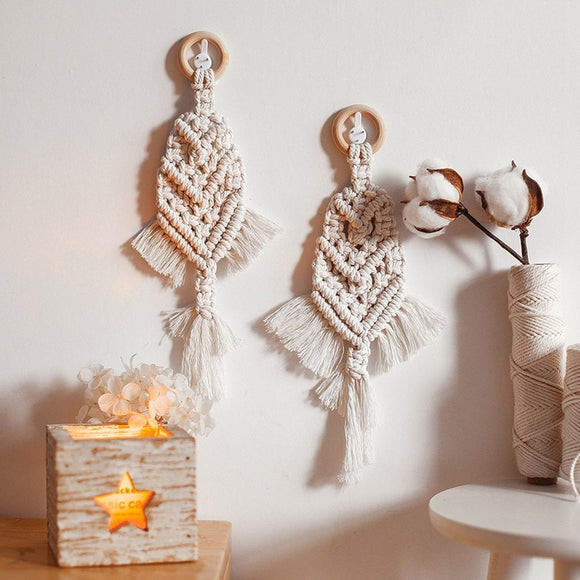 Hand-woven Wall Hanging Tapestry