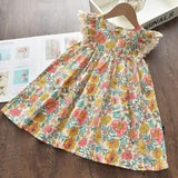Cartoon Embroidery Summer Sleeveless Clothes