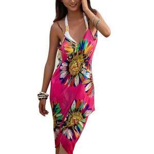 Bohemian Summer Beach Dress