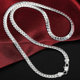 Silver Sterling Engagement Chain