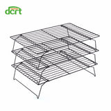3 Layers Stackable Cake Cooling Rack