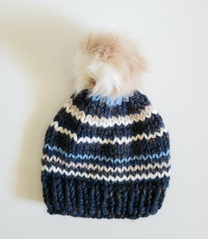 knit beanie for kids, kids winter hat, kids toque, winter beanie, wool beanie, wool toque, kid's wool hat, child's knit beanie, pom pom beanie, boys knit beanie, kids knit beanie