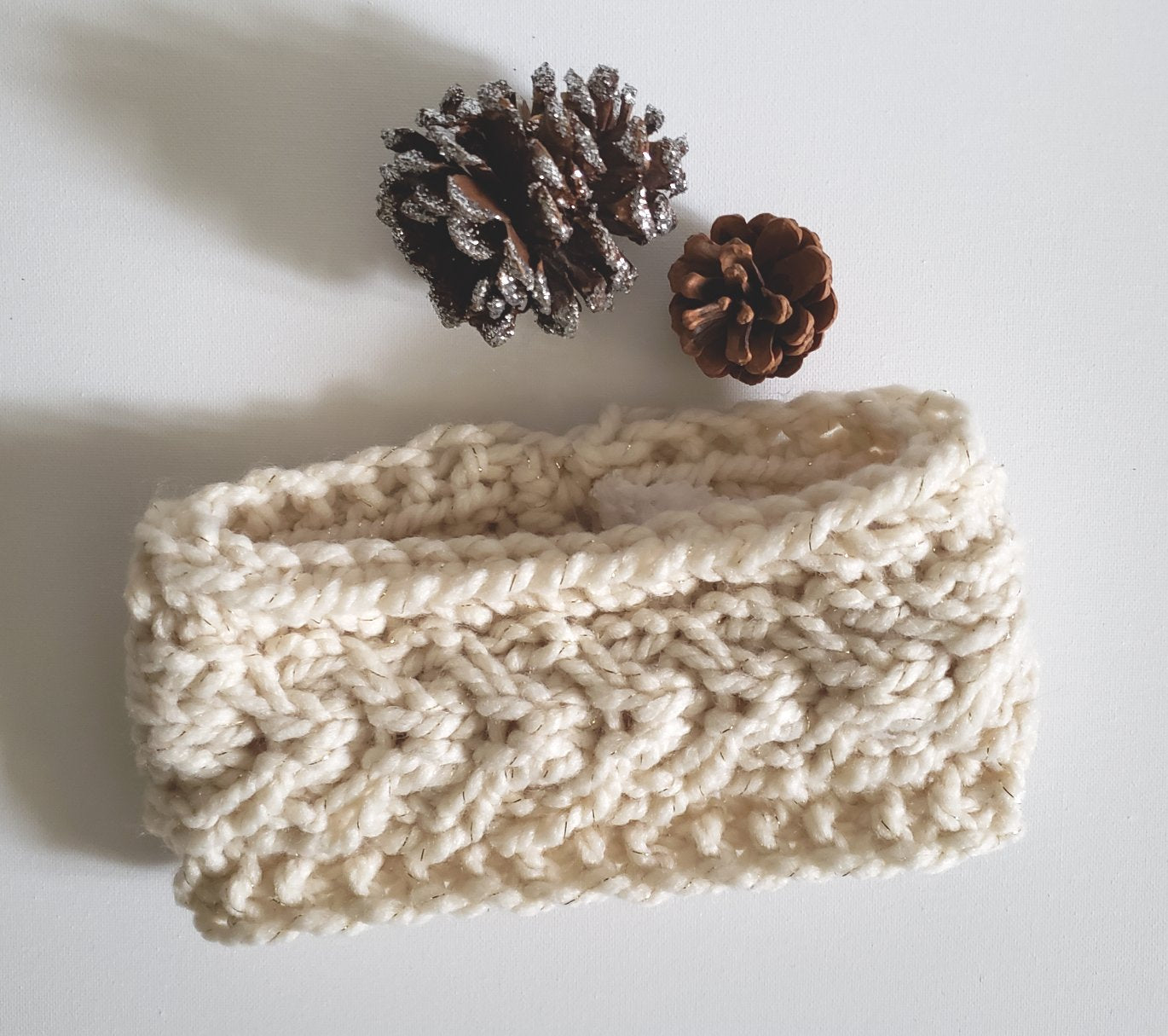 Fleece Lined Knit Headband