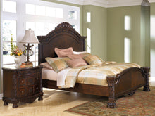 North Shore Panel Bed